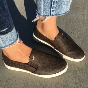 5b96a1e43e3a1 MICHAEL Michael Kors Shoes - MICHAEL Michael Kors Keaton Slip-on logo  sneakers